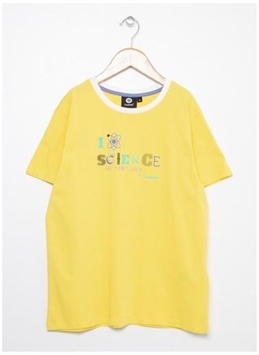 Hummel Hummel 911346-5102 Sarı Erkek Çocuk T-Shirt Sarı
